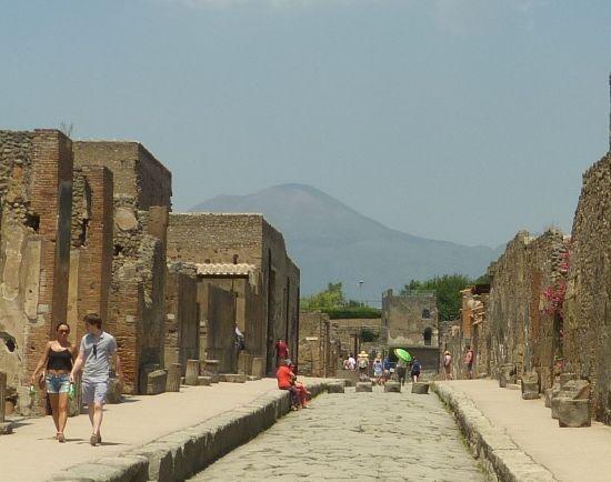 Tři dny v Itálii II. - Vesuv a Pompeje