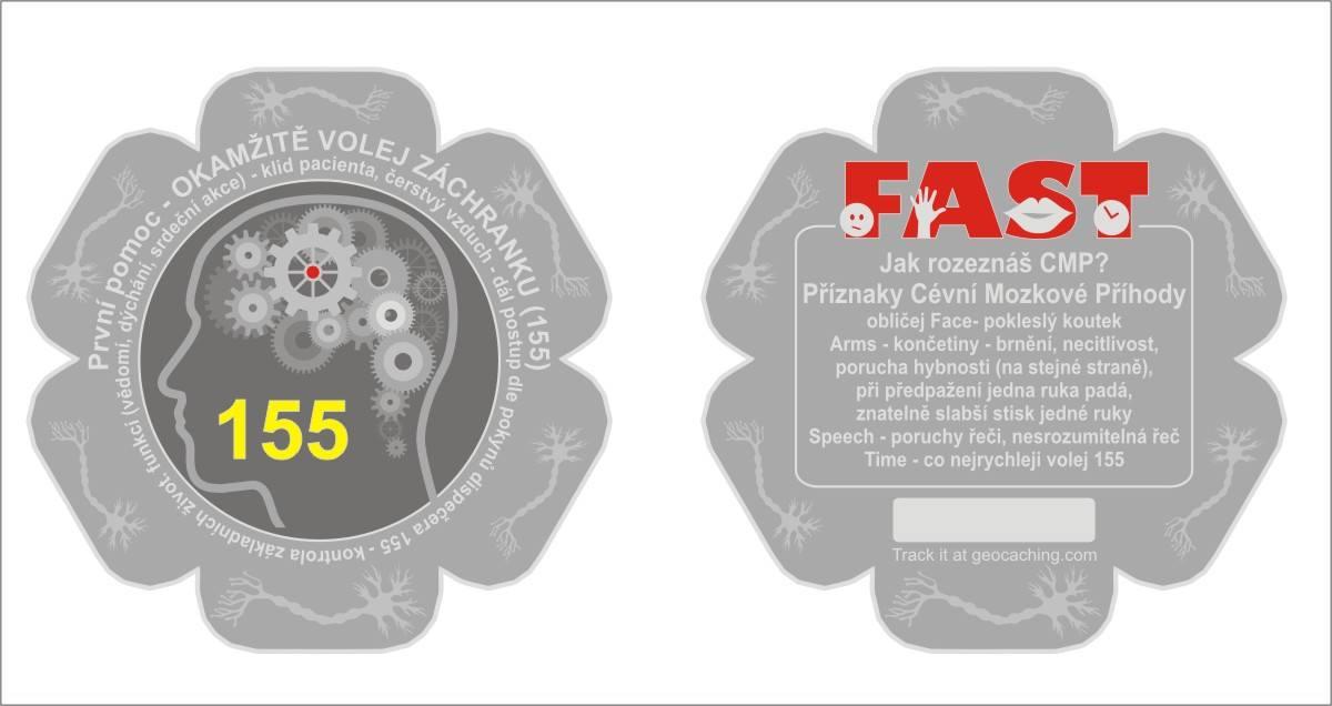 ZACHRAŇ MOZEK - 3.zdravotnický coin