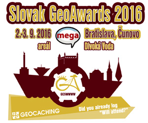 2. mega event na Slovensku: Slovak GeoAwards 2016