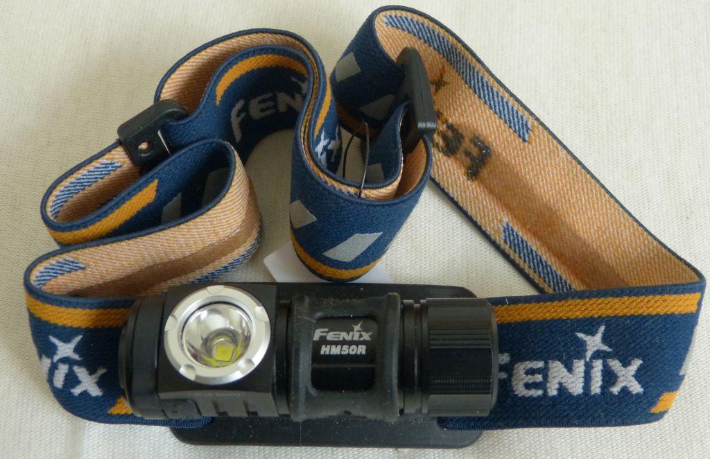 Uživatelská recenze svítilny Fenix HM50R