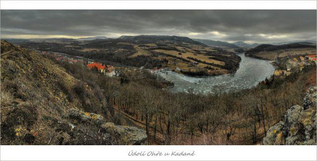 Údolí Ohře u Kadaně