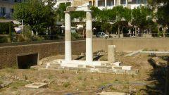 Archeologické naleziště na náměstí Antagora v Kosu
