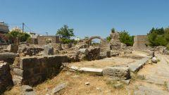Západní vykopávky v Kosu
