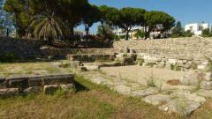 Dionýsův oltář na náměstí Antagora v Kosu