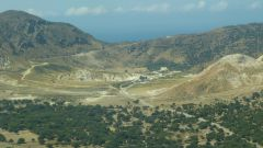Nisyros - kráter Stefanos