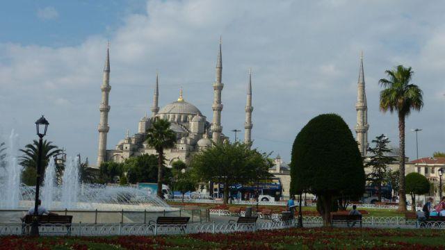 Mešita Sultána Ahmeda (Modrá mešita)