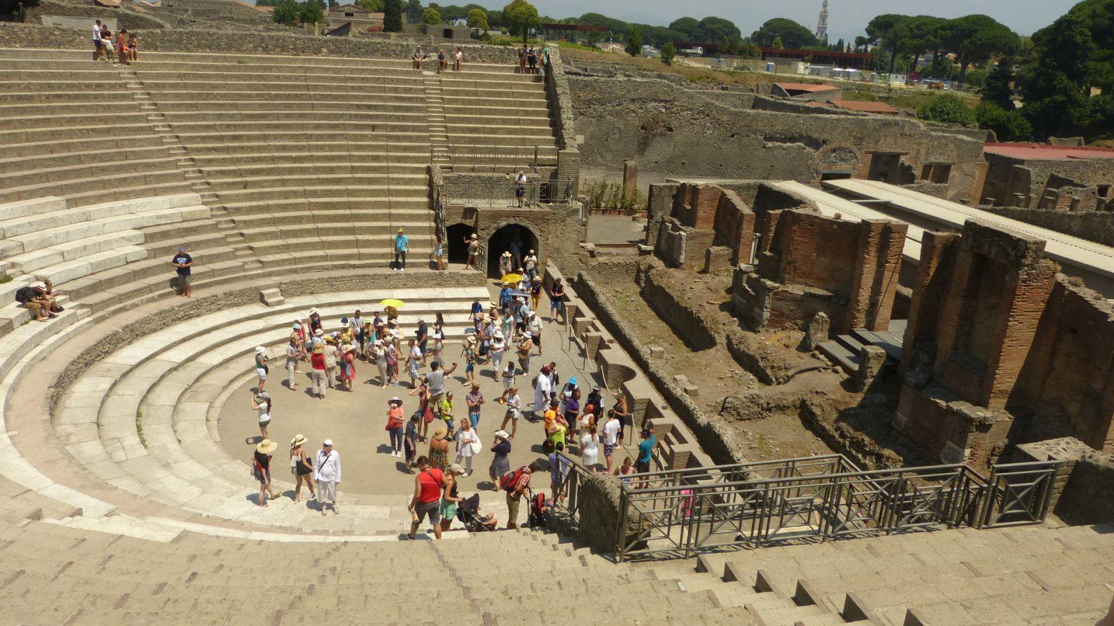 Pompeje - velké divadlo