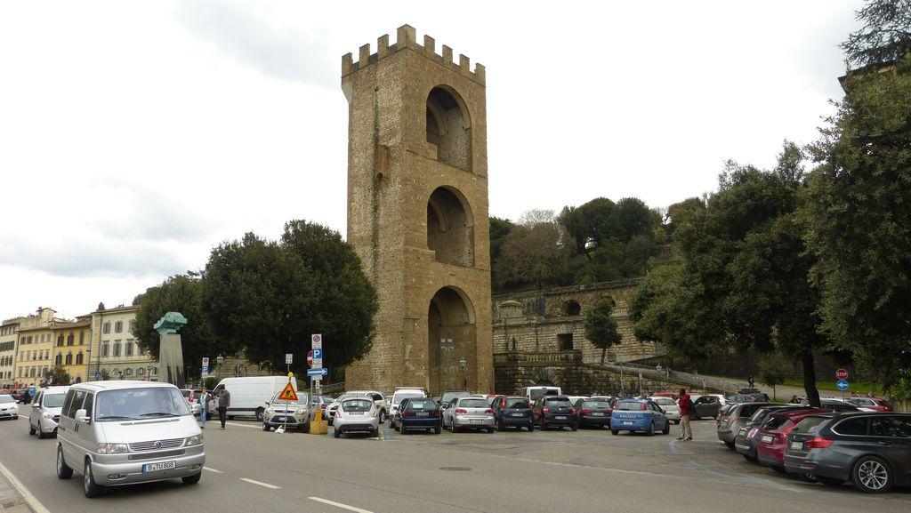Florencie - Torre San Niccolo