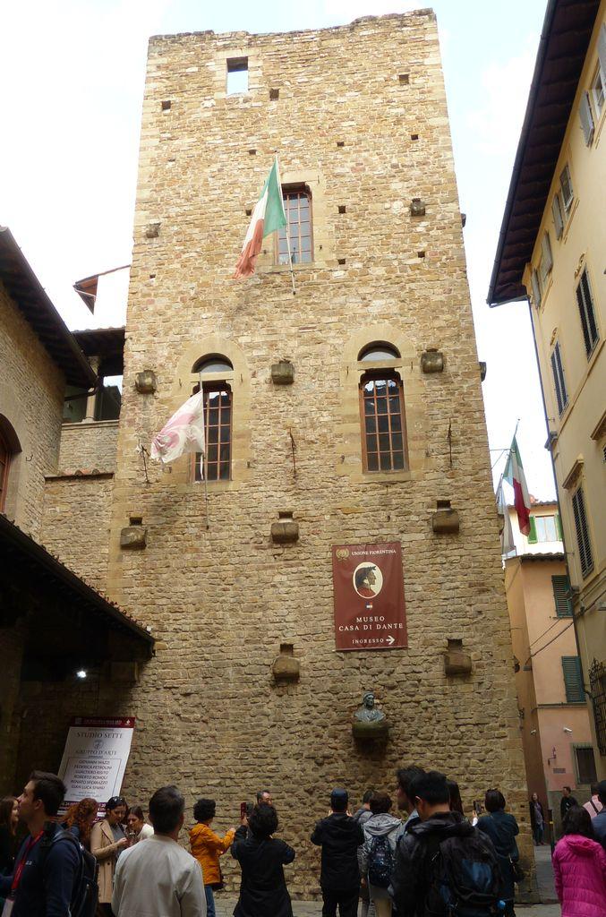 Florencie - muzeum Danta