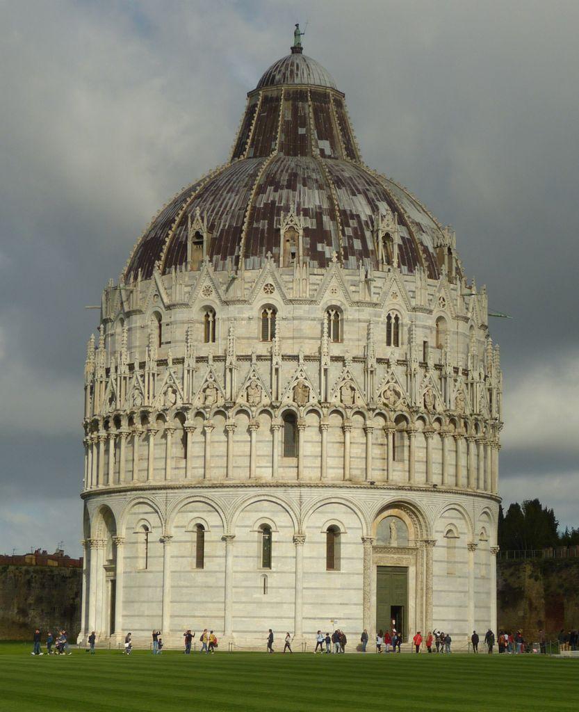 Pisa - baptisterium