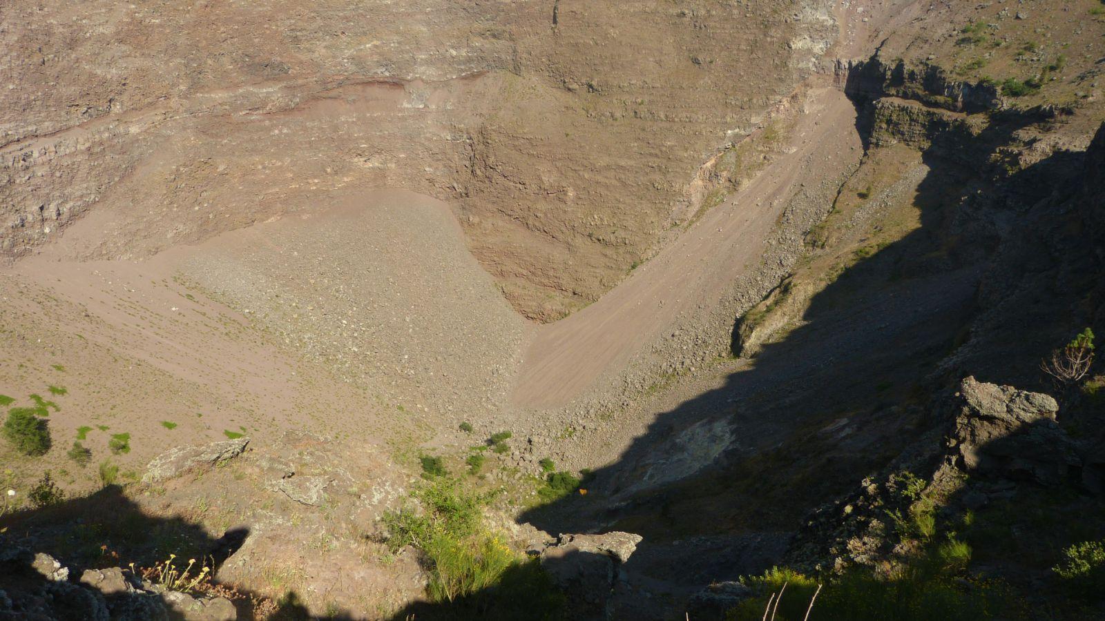 Vesuv - kráter
