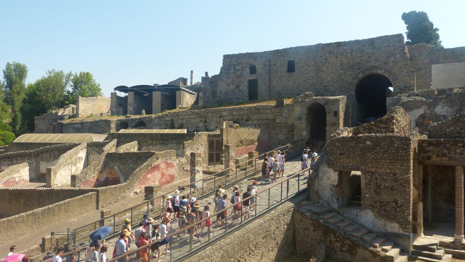 Pompeje - Porta Marina