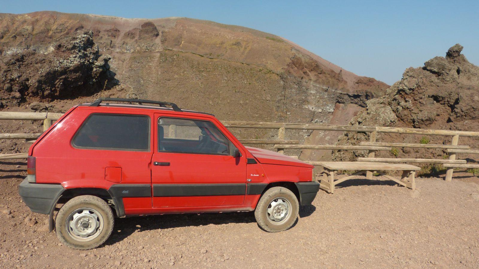Vesuv - auto