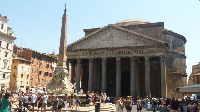 Pantheon a obelisk