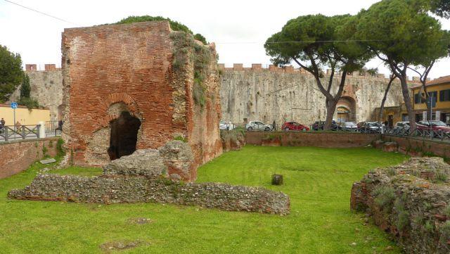 Pisa - Neronovy lázně