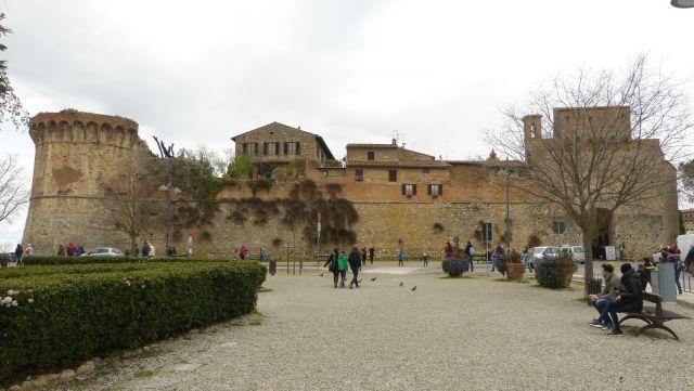 San Gimignano - vstup