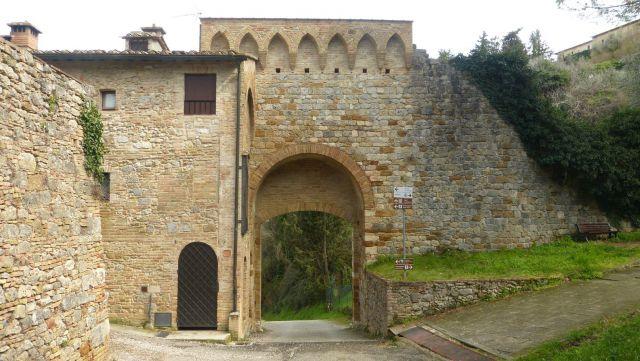 San Gimignano - brána