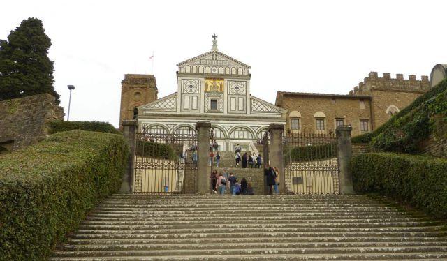 Florencie - San Miniato al Monte