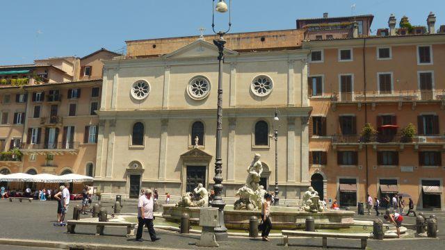 Náměstí Navona - Maurova fontána
