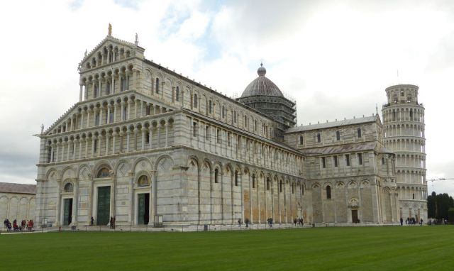 Pisa - dóm a šikmá věž