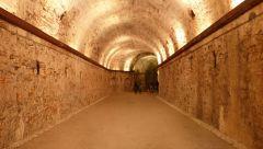 Lucca - bastion - chodba