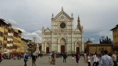Florencie - Piazza Santa Croce