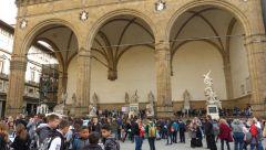Florencie - Loggia Del Lanzi
