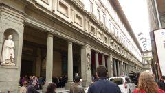 Florencie - Palazzo Uffizi