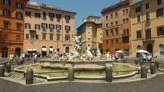 Náměstí Navona - Neptunova fontána