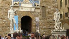 Florencie - Palazzo Vecchio - vstup