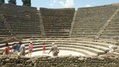 Pompeje - malé divadlo
