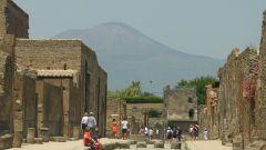Pompeje a Vesuv