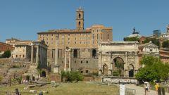 Forum Romanum - východní část