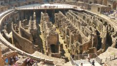 Koloseum - podzemí