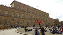Florencie - Palazzo Pitti