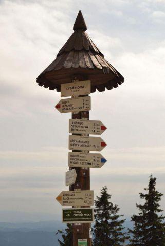 turistický rozcestník
