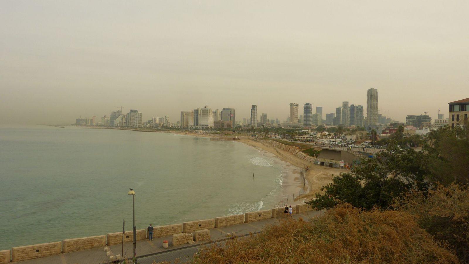 Jaffa - pláž