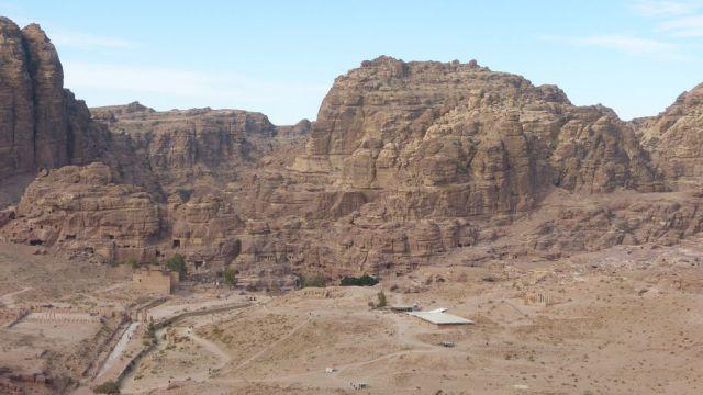 Petra - centrum - detail