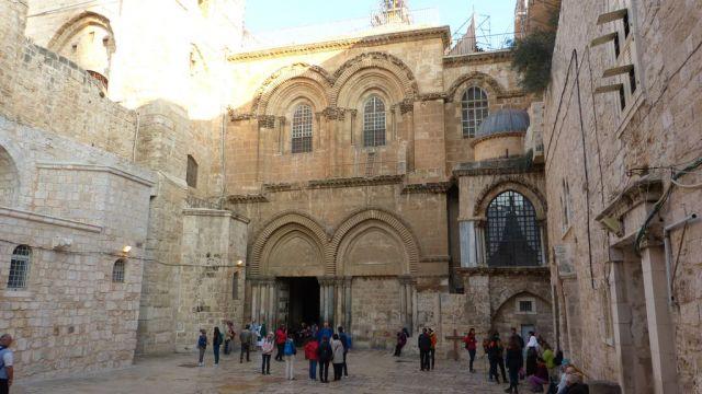 Jeruzalém - Chrám Božího hrobu