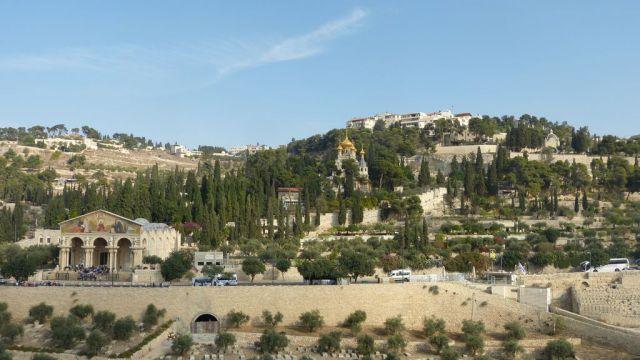 Jeruzalém - Olivová hora