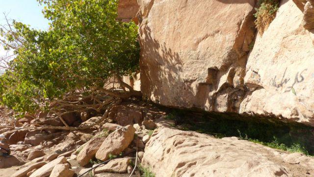 Wadi Rum - Lawrencův pramen
