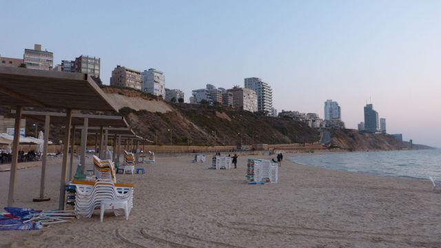 Netanya - pláž