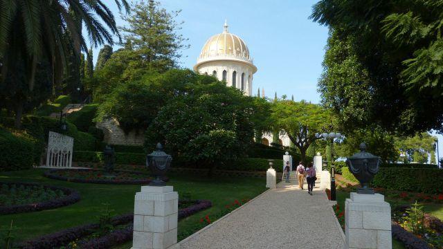 Haifa - svatyně Bába