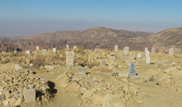 Hřbitov u Wadi Dana
