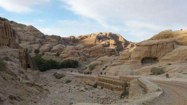 Petra - cesta do areálu