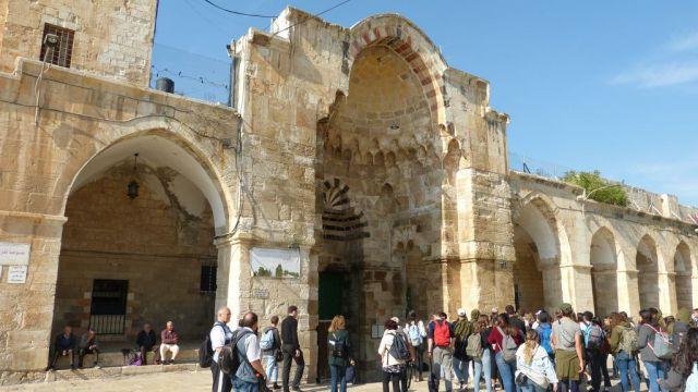 Jeruzalém - Brána obchodníků bavlnou
