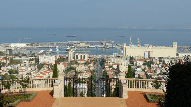 Haifa - přístav