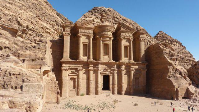 Petra - klášter (Ad Deir)