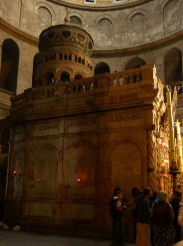 Jeruzalém - Boží hrob - edikula