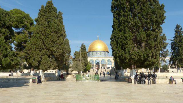 Jeruzalém  - Chrámová hora